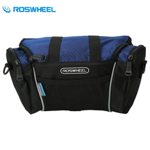 ROSWHEEL Cycling Bike Bicyle Head Bag Polyester Bicycle Frame Bag Big Capacity Top Tube Bag For Bike Accessories(China)