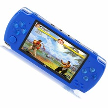 Portable Handheld Game Console 8gb 4.3 Inch Mp4 player Video Game Console Free 1000 Games Ebook Camera Recording Gaming(China)