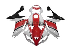 For Yahama YZF1000 YZF R1 2007 2008 ABS Injection Body Fairing Kit Red White