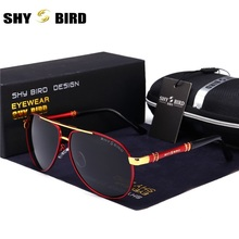 Mens Polarized Mirror Sunglasses Classic Brand Designer Men's Sunglasses Driving Glasses Sunglasses Pilot(China)