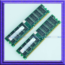Hynix 2GB 2x1GB PC3200 DDR400 400MHz 184Pin DIMM Desktop Low Density MEMORY 1G RAM