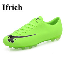 Ifrich Mens Football Trainers Shockproof Men Shoes For Football Sport Good Quality Soccer Shoes Men Cleats Football Shoes