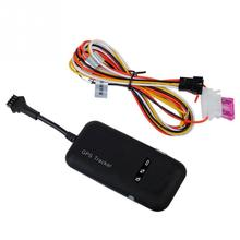 Quad Band GSM GPRS GPS Tracker Vehicle Auto Car Google map Link Real Time Tracking(China)