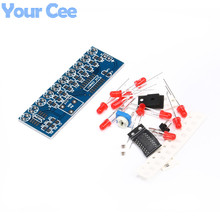 NE555+CD4017 Light Water Decimal Counting Electronic Suite Flowing Light Self DIY Electronic Kits