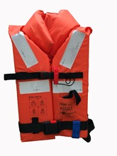 SOLAS marine life jacket life vest personal floating device CE(MED) life jacket large buoyancy 275N(China)