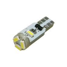 10pcs T5 5 LED 3014 Wedge SMD Car Auto Lamp Dashboard Gauge White Lights Instrument Warning Indicator Signal Bulbs