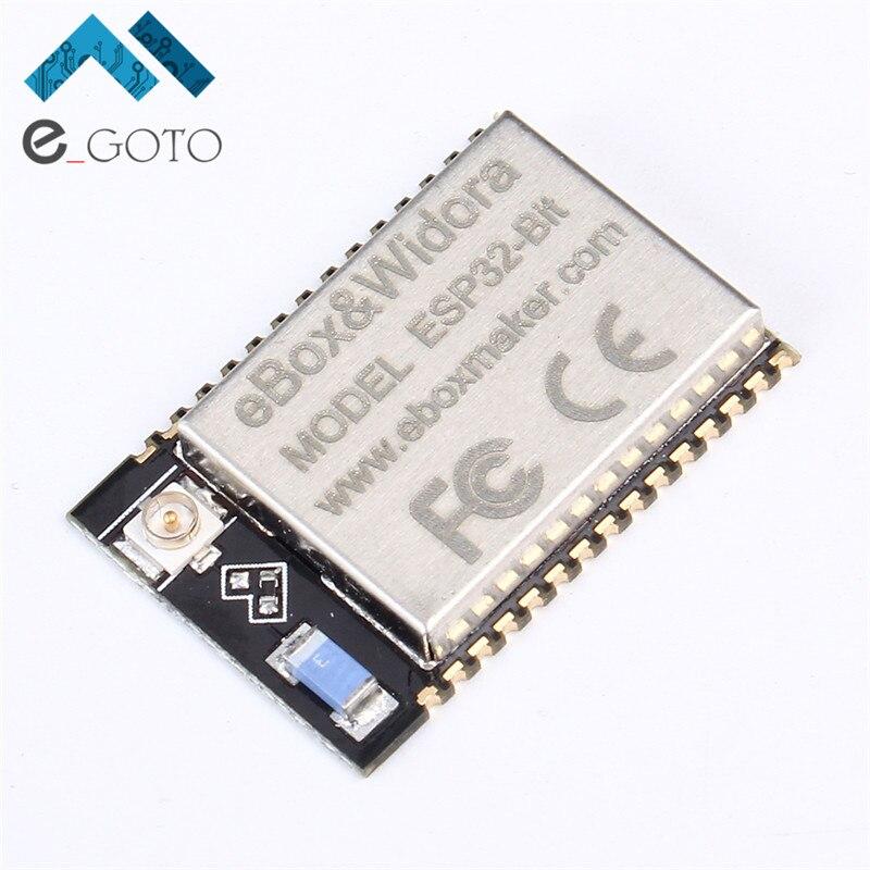 ESP32-Bit WiFi Bluetooth Module Dual-Core CPU Ethernet Port ESP-32 MCU Low-power 240Mhz 600DMIPS For Bluetooth ESP-3212 ESP32
