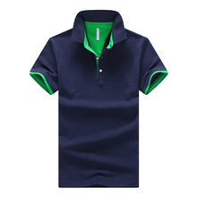 Hot polo men shirt New arrival 2017 summer fashion solid man cotton short sleeve slim Breathab polo shirts plus size M-3XL,4XL