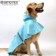 Large Dog Raincoat Pet Clothes Rain Snow Coat of Paint Polka Dot Golden Retriever Labrador Husky Raincoat Summer Winter(China)