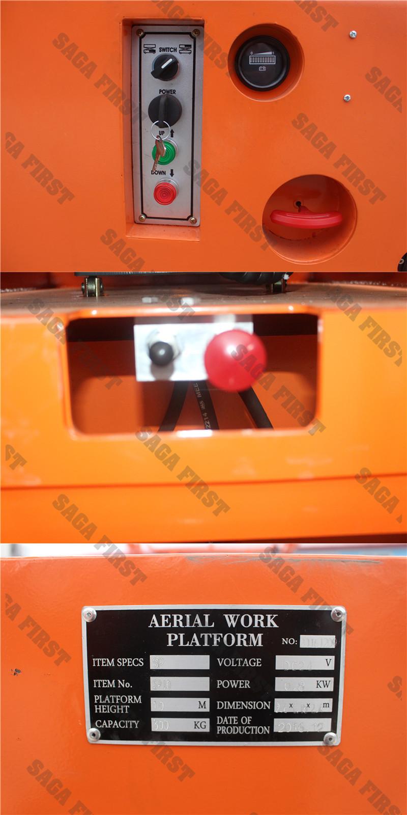 Hydraulic Drive Scissor Lift