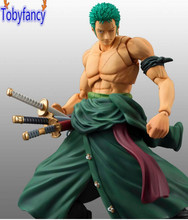 One Piece Zoro Figure SHF PVC 180mm One Piece Action Figures S.H.Figuarts Anime Toys Roronoa Zoro Model Tobyfancy