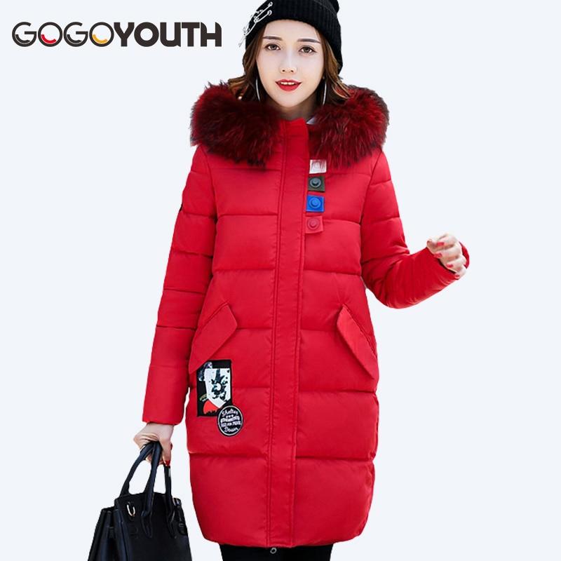 Gogoyouth Winter Jacket Womens Parkas 2017 Autumn Thick Warm Hooded Female Jacket Winter Coat Women Cheap Plus Size Snow CoatÎäåæäà è àêñåññóàðû<br><br>