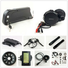 US EU No Tax 48V 1000W Bafang BBSHD 8Fun BBS03 mid drive Electric Bicycle motor kit with 48V 14Ah Lithium e bike battery