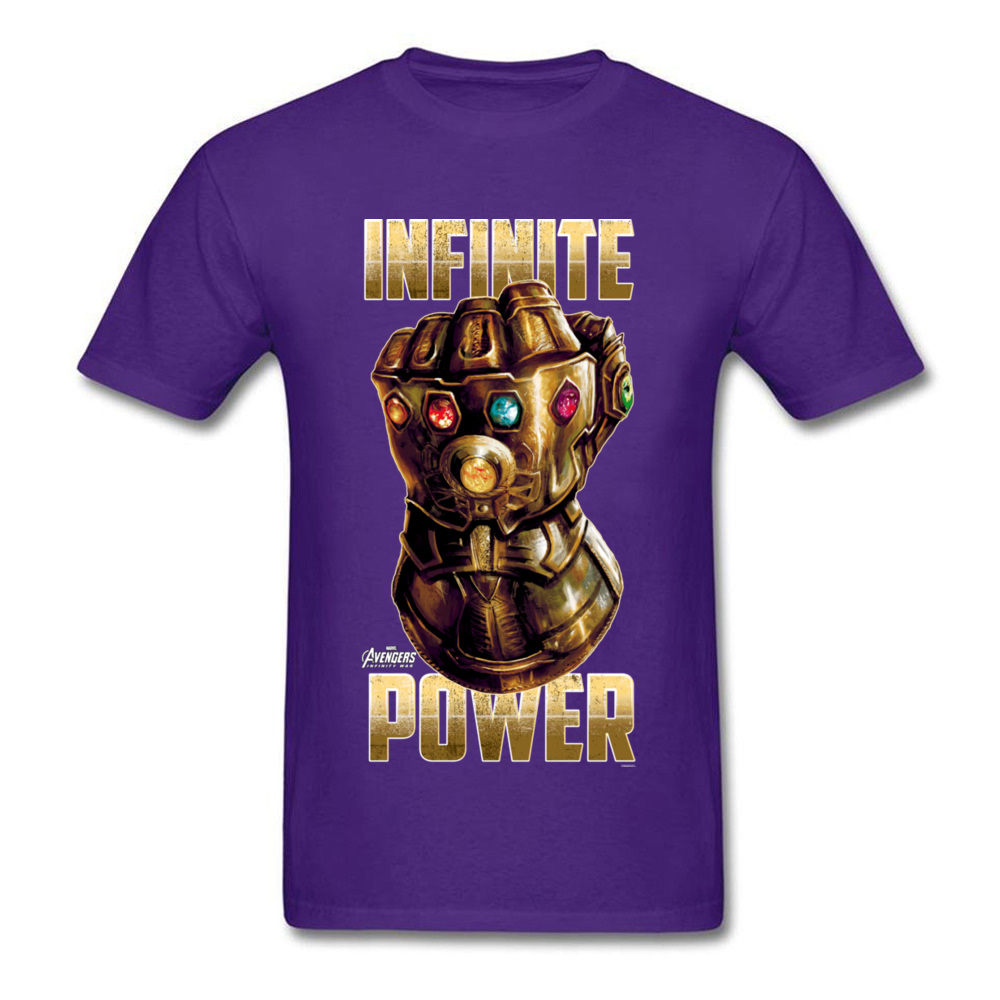 Star War Infinite Power Summer/Fall Pure Cotton Round Neck Tees Short Sleeve Funny Tops Tees 2018 Newest Summer T-Shirt Infinite Power purple