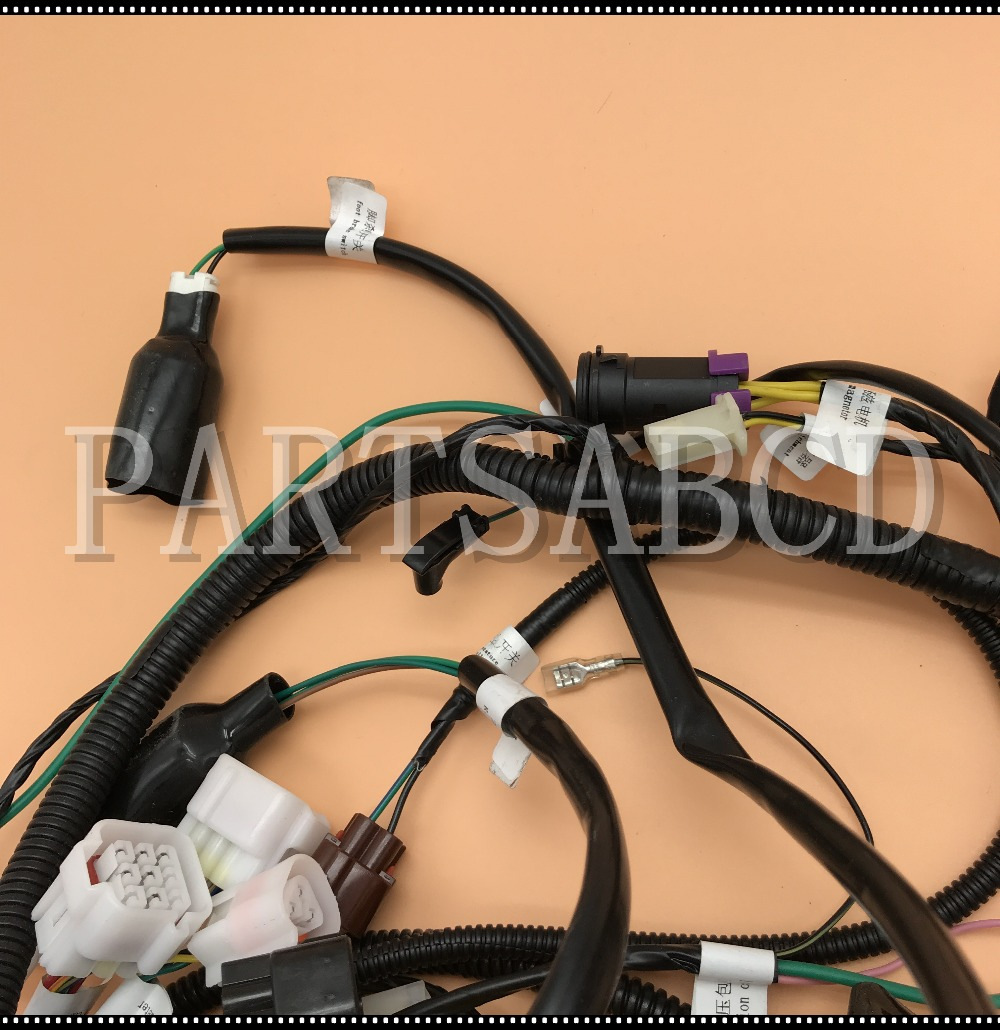 Buyang Atv Parts Wiring Harness Schematic Diagrams 107 Feishen Fa D300 Wire Assy 5 3 01 0063 110