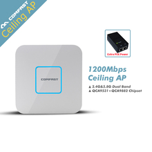 COMFAST 1200Mbps Gigabit WI-FI router Ceiling AP dual band 802.11 AC 5.8G+2.4G CF-E355AC Wireless WiFi Access Point wifi router
