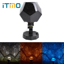 ITimo Cosmos Star Master Romantic Night Light Sky Projector Starry Revolving Lamp Children LED Christmas Beautiful Gift