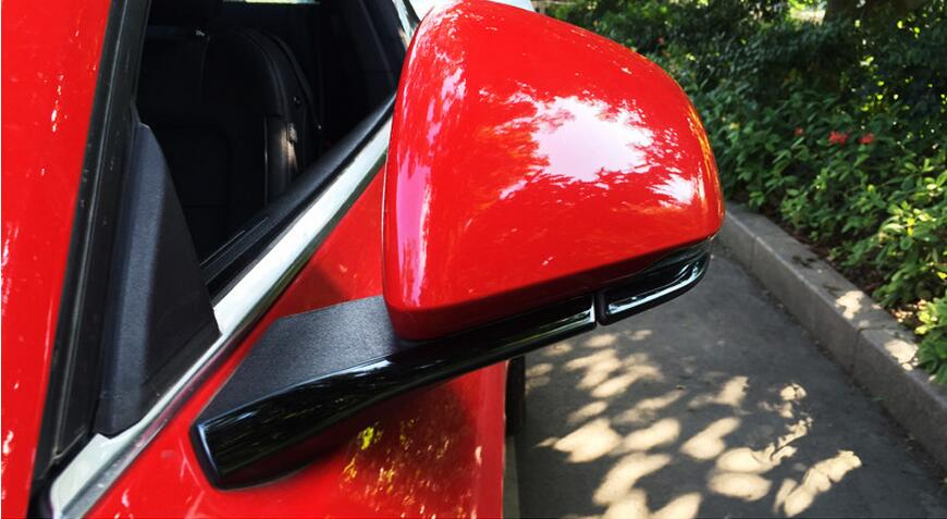 side mirror trim for Ford Mustang car accessories (10)