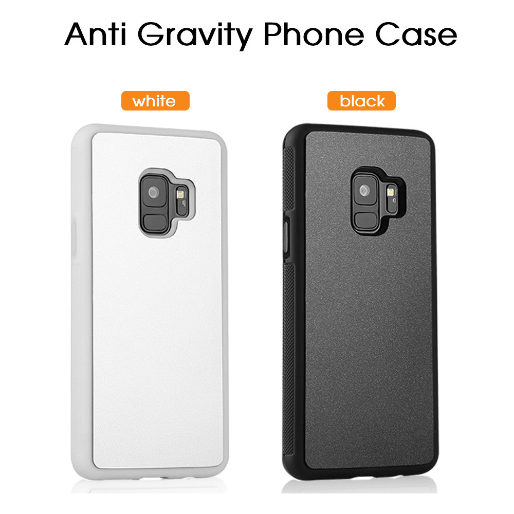 OTAO Anti Gravity Phone Case For Samsung S9 S8 S7 S6 S5 Edge Plus Note 8 7 5 4 For iPhone X 8 7 6S 6 Plus Adsorbed Cover Cases 2