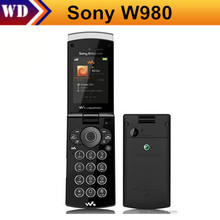 W980i Original Sony Ericsson W980 FM JAVA Bluetooth 3.15MP Unlocked Mobile Phone One Year Warranty