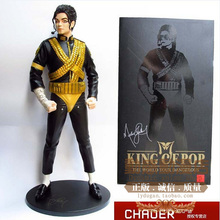 Promotion Collection America Star Celebrity Limited Edition MJ Michael Jackson Classic Jam Doll Puppets Model Soldier Toys(China)