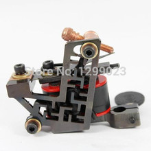 Original New arrival 2015 Tattoo Guns Professional Handmade Tattoo 10 Wrap Coils Machine For liner Tattoo Machine FREE SHIPPING(China)
