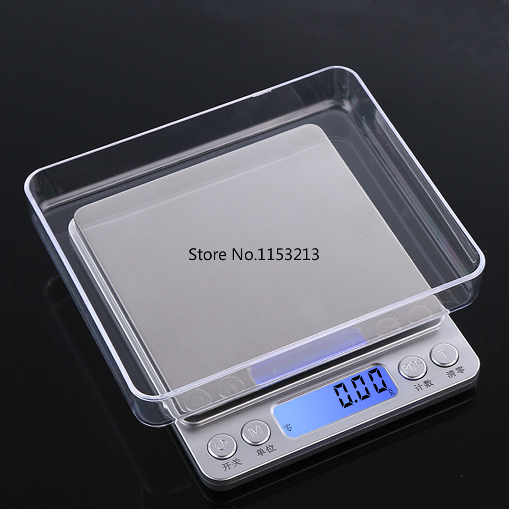 Precision mini home electronic scales Accuracy 0.01g Small Kitchen Scale 500g Said grams baking Food weighing Bake Peck said<br>
