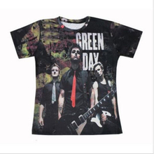 New Green Day Funny printed 3d womens mens t shirts short sleeve t-shirts casual crew neck tees unisex Tops Plus size S-5XL(China)