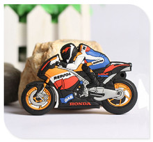 Lovely racing motorcycle USB 2.0 usb flash drives thumb pendrive u disk usb creativo memory stick 4GB 8GB 16GB 32GB 64GB S84