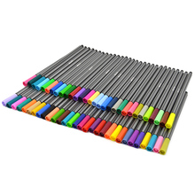 60 PCS Fine Line Fineliner Color Colored Pen Set Sketch Drawing Pen 60 Assorted Colors for School Office Student Supplier