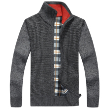 Men's Wool Cotton Mens sweaters Winter Autumn men Cardigan Brand Overcoat New  Sweater Army Green Size M-3XL 5 Color