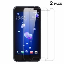 SUNDATOM Tempered Glass Screen Protector for HTC U11 Protective Glass Film HD Vision