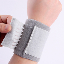 Elastic knitting pressure bandage volleyball sports carpal tunnel wrist brace support free shipping #ST6612(China)