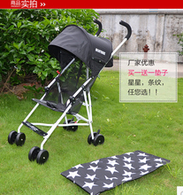 Easy Folding Umbrella Car Light Trolley Baby Car Dual Use Winter Baby Stroller Accessories European Baby Strollers