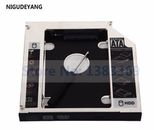 NIGUDEYANG 2nd Hard Drive HDD SSD Caddy Adapter for Toshiba Qosmio F60 Swap UJ141 UJ141ES