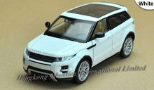 1:32 Scale Alloy Metal Diecast Car Model For Range Rover Evoque Collection Model Pull Back Luxury SUV Car With Sound&Light
