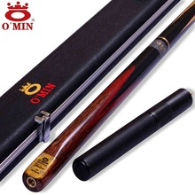 OMIN Snooker Cue,Union, The Top Level, 145cm Length, 10mm Cue Tip, Ash Wood ,3/4 Handmade Billiard Stick, Free shipping