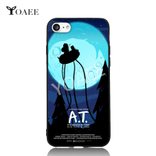 A.T It's Adventure Time Fun Art For iPhone 6 6s 7 Plus Case TPU Phone Cases Cover Mobile Protection Decor Gift