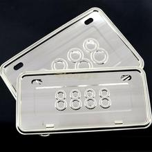 Universal Motorcycle License Number Plate Holder Mount Bracket(China)