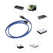 Durable 3M 10M15M 20M CAT7E Ethernet Internet Network Patch LAN Flat Cable Cord For Computer Laptop