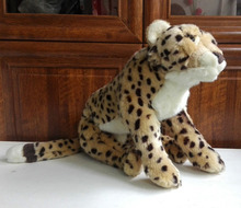 Free shipping Official 50cm New plush toy stuffed animal doll NICI Leopard panther Cheetah birthday gift(China)
