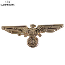 ELEIZHENWTA Army Badge Emblem Lapel Stick Zinc Alloy Brooch Pin Suit Tuxedo Corsage Boutonniere Wedding Party Women Men Gift(China)