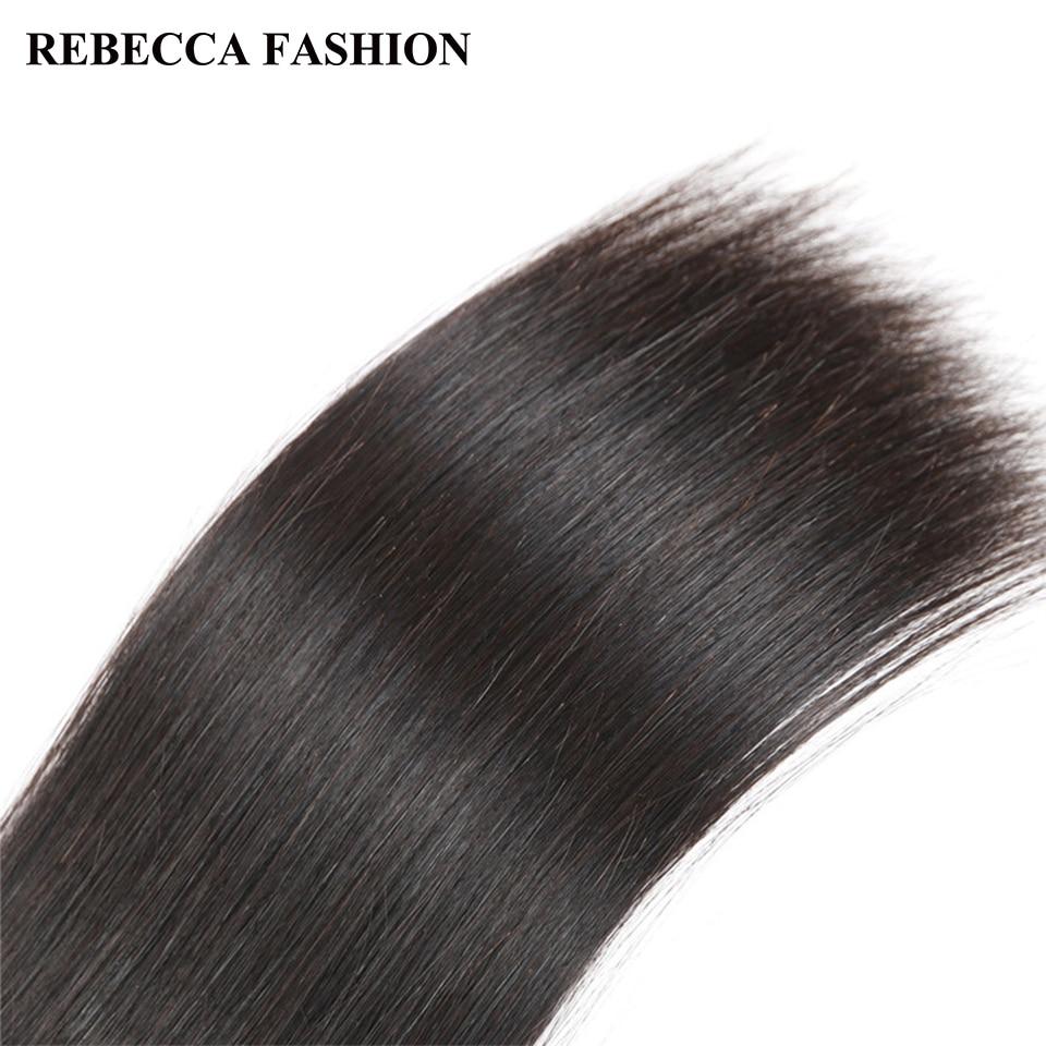 Rebecca Malaysian Virgin Hair 3 Bundles Straight Hair Weave Salon Human Hair Bundles 300g 10-28inch unprocessed Hair Extensions