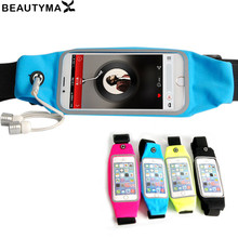 Waterproof Running Waist Bag case for iPhone 5S 6 6S 6plus Touch Screen Workout Belt 5.5 inch Pouch Mobile Phone Cover