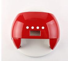 60W UV LED Lamp Nail Dryer LED Dual Hands Nail Lamp Curing For UV Gel Nail Polish With LCD Timer Display Sensor(China)