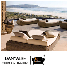 DYLG-JN66 Danyalife Hot Selling Outdoor Poly Rattan Furniture Swimming Pool Lounge