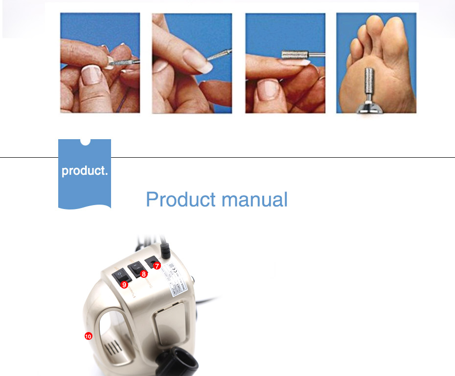8 electric professional nail drill, professional nail drill, nail drill,Cheap electric professional nail drill, (11)