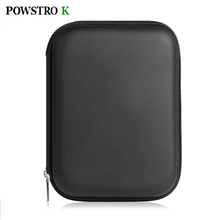 POWSTRO K 2.5 Inch HDD Bag Case Storage Box Shockproof Extend Hard Disk Drive Protect Bags Power Bank Battery Earphone Case