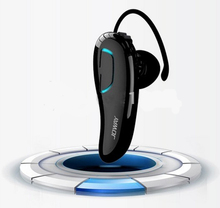 JOWAY H02 Mobile wireless Bluetooth headset, universal stereo mini one with two music Bluetooth headset Dual standby radio song(China)