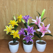 100seeds Potted Flowers Perfume lily seeds Balcony Bonsai Plant For Garden & Home Four Seasons planting Easy to grow